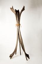 Tronc du cocotier, longueur: 200cm